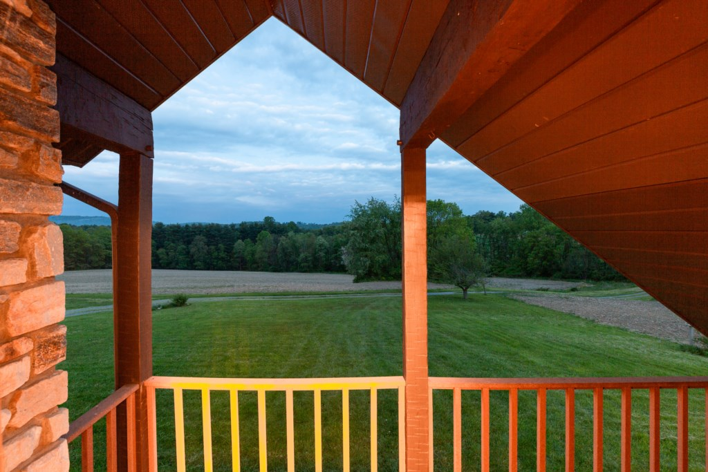 Beautiful views overlooking the property.