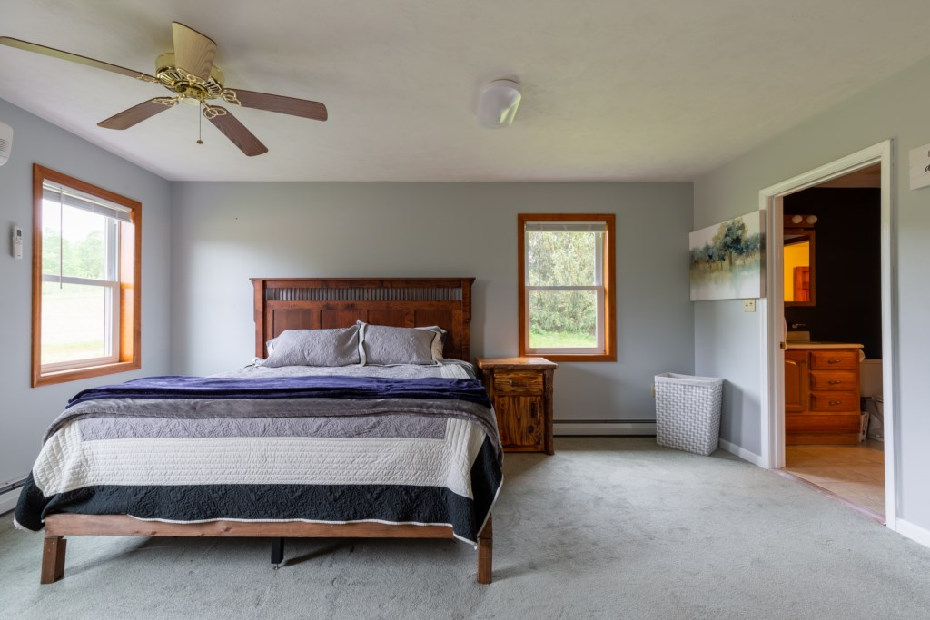 Master Bedroom with a Luxurious King Bed