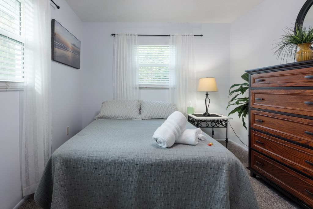 Bedroom Three - Bright and airy