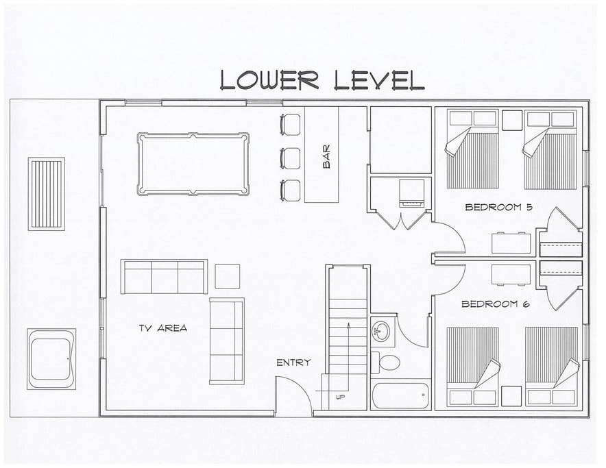 Lower Level Layout