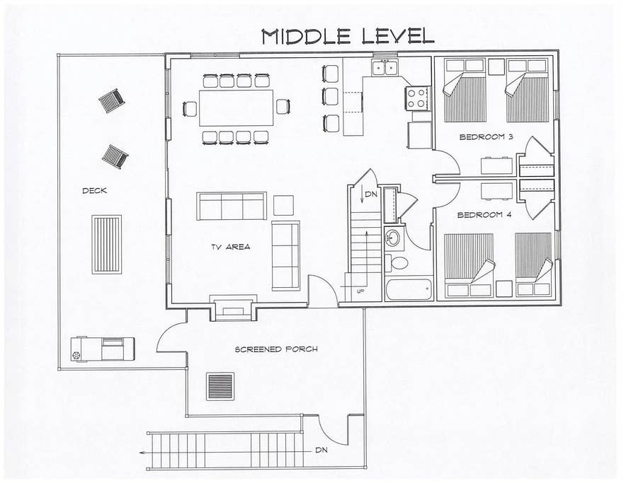 Middle Level Layout
