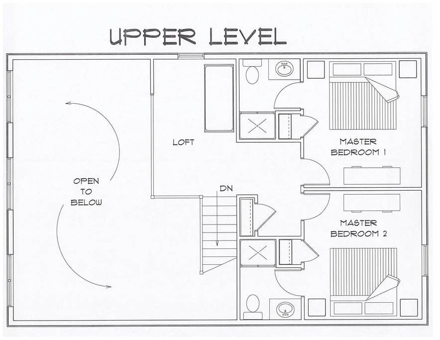 Upper Level Layout