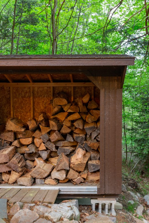 We provide plenty of wood for your stay.