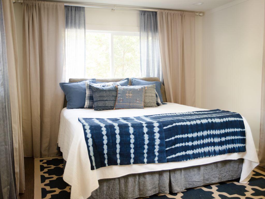 Master Bedroom Lakefront Home