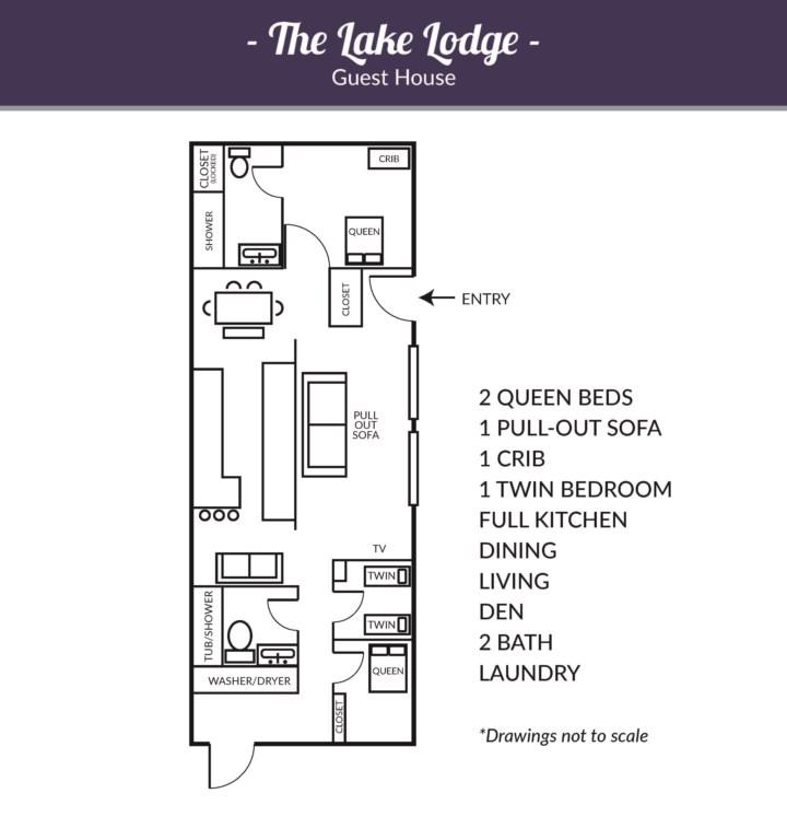 Lake Lodge, Guest House