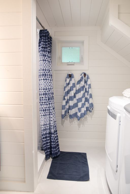 Lakefront Home Downstairs Laundry Room