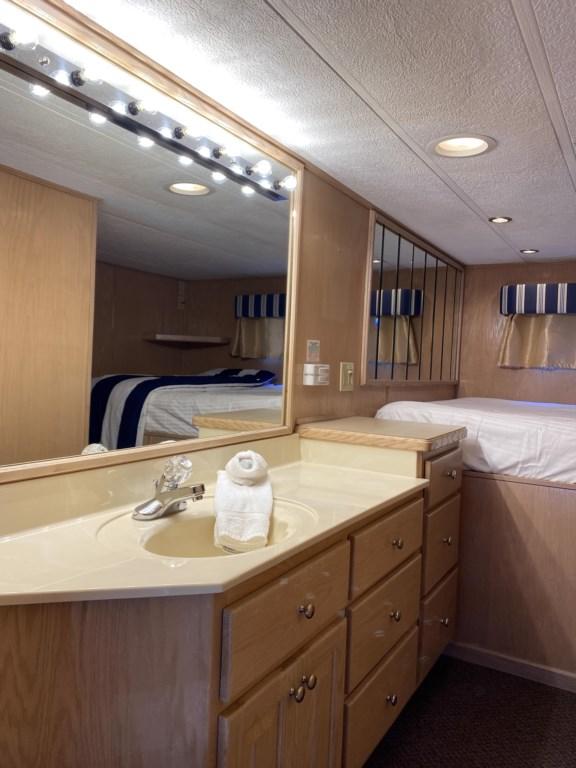 Hall Bedroom with Vanity