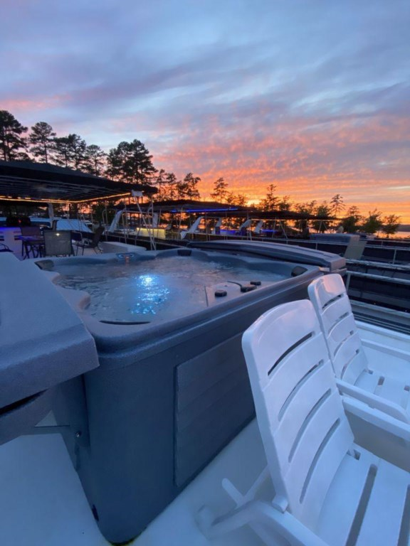 Dock View from Hot Tub