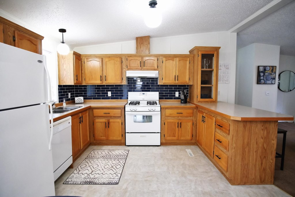This 3-bedroom 2 bath modular home with recent upgrades offers a great vacation getaway.