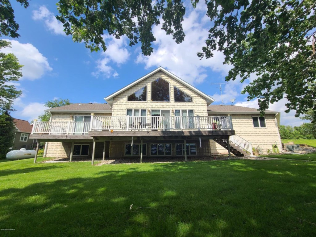 Newly renovated 6 bed / 3 bath lake home on Leek Lake with 275' of frontage.