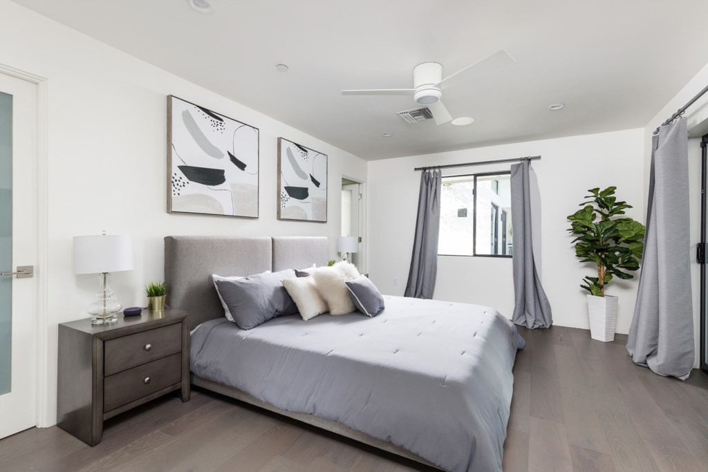 4th Bedroom with King size bed
