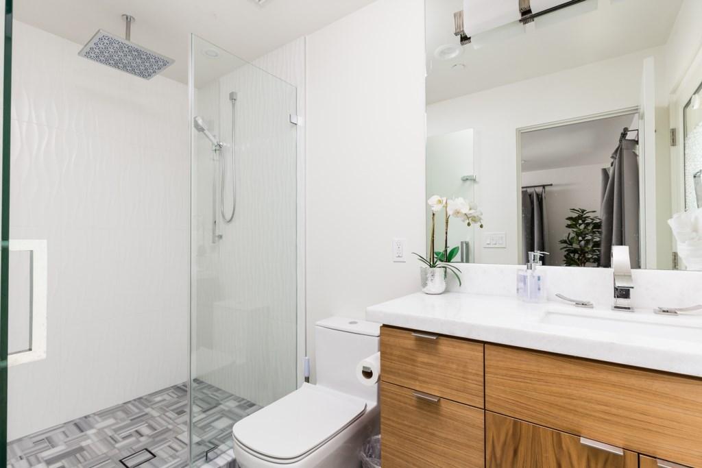 3rd Bathroom with huge walk in shower