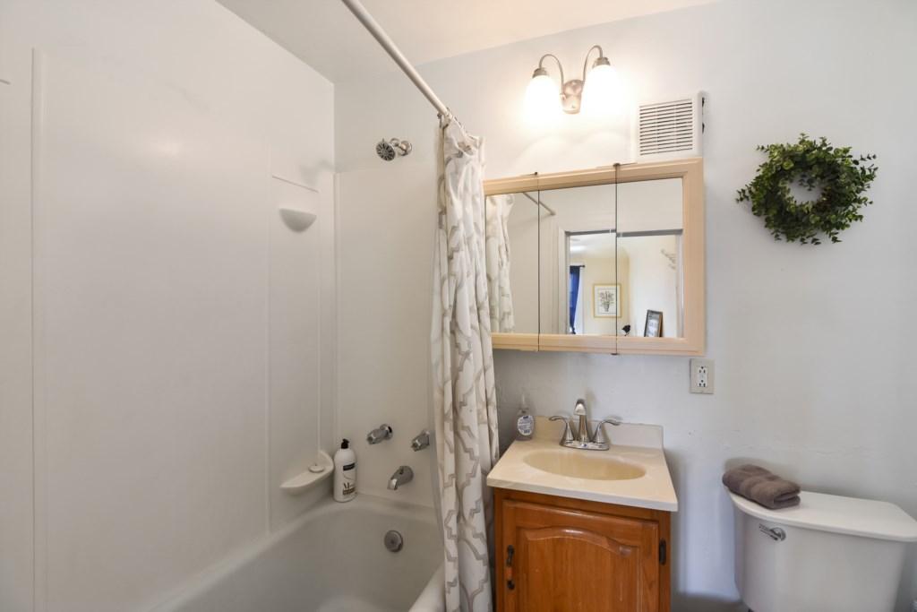 A Hot Shower or Bath - You Decide!