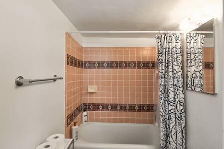 Vintage Tile in Bathroom