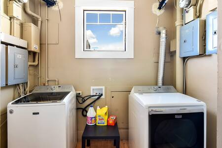 Washer and Dryer Available