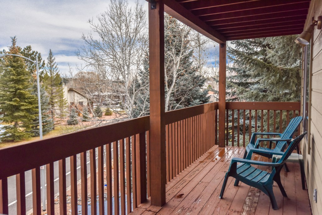 Deck Area with Views of Continental Country Club