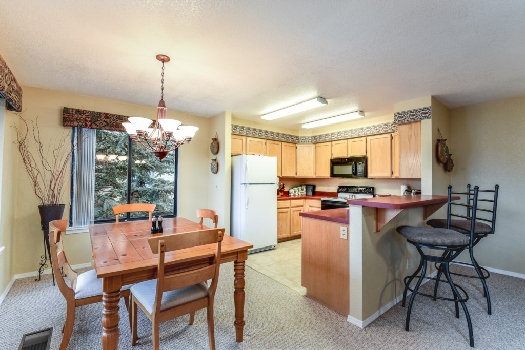 Great Kitchen Space for a Home Cooked Meal
