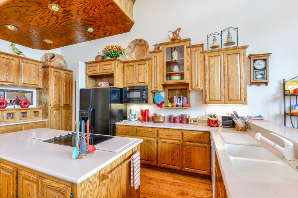 Spacious Kitchen Perfect for Big Family Meals