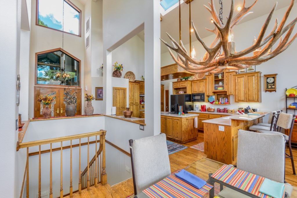Mountain Decor Sprinkled Throughout Our Modern Home
