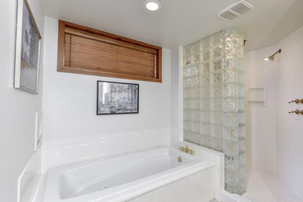 Take a Soak in Our Charming Bath
