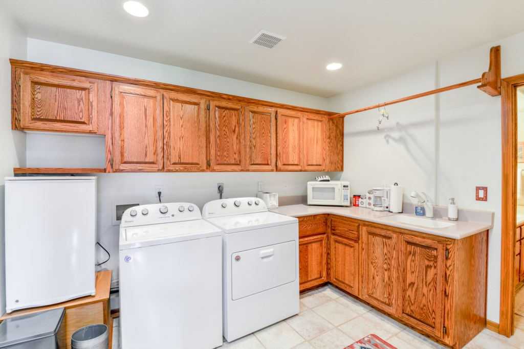 Laundry Area for Your Convenience