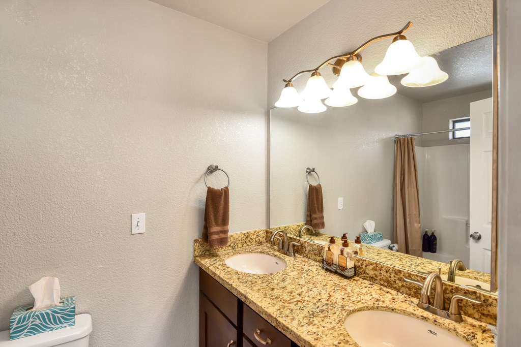 Granite Counters and Double Sink