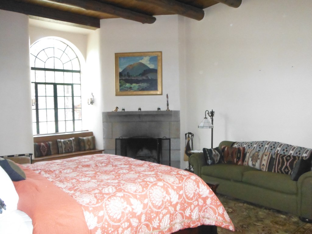 View of Fireplace in Master Bedroom