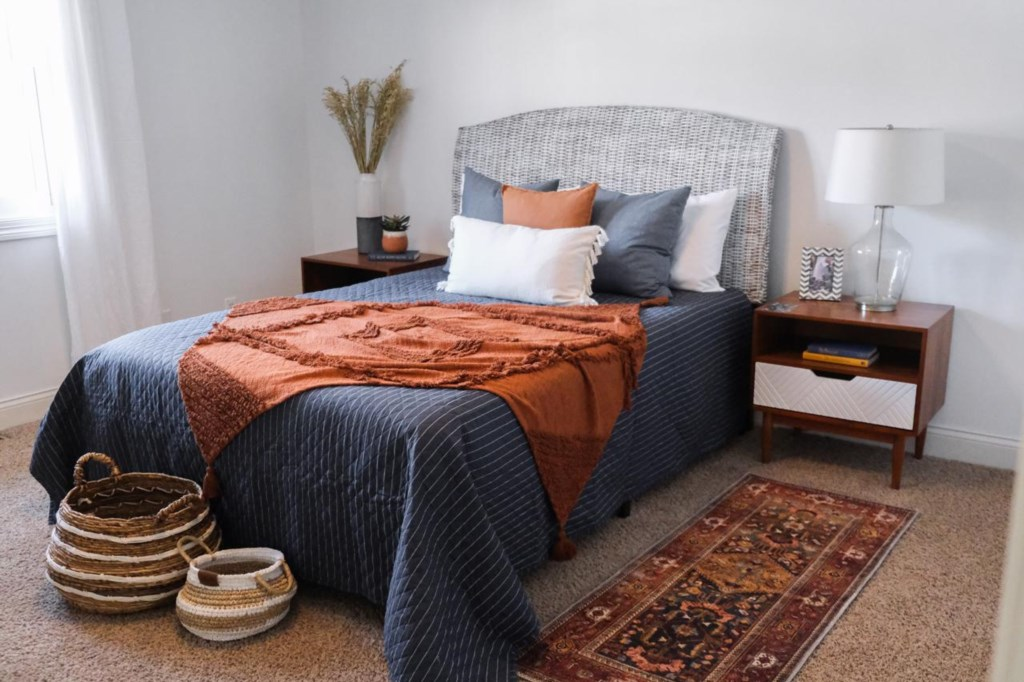 You will surely feel like a world traveler in this boho inspired room.