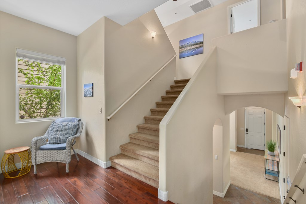 This home has multiple stairs, all bedroom are on the 2nd and 3rd floors.