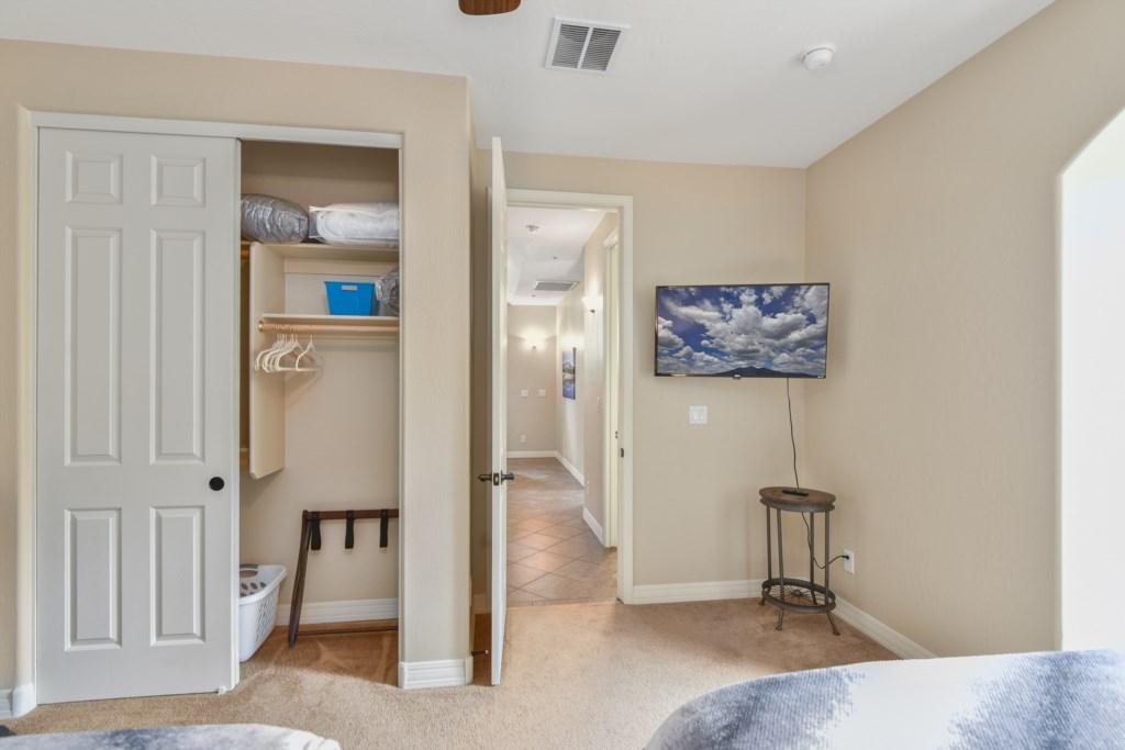 Bedroom #3, 2 queen beds