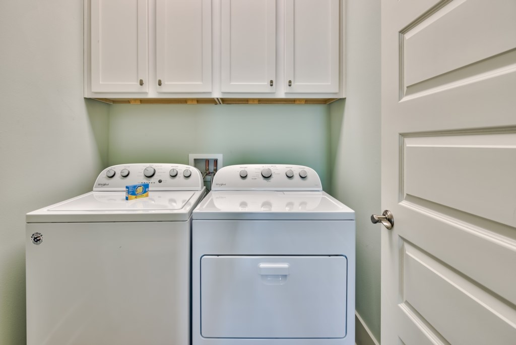 Convenient Washer and Dryer in the Home