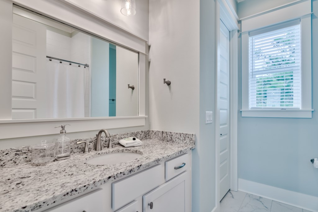 Clean and well appointed Bathroom