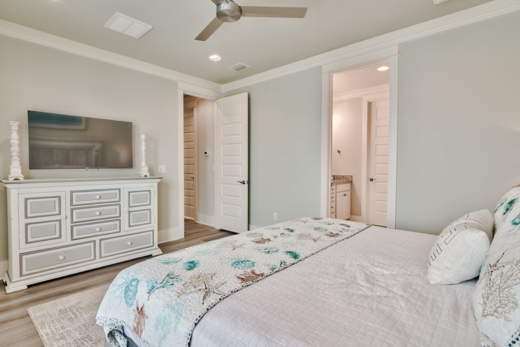 Spacious Bedroom with Bathroom