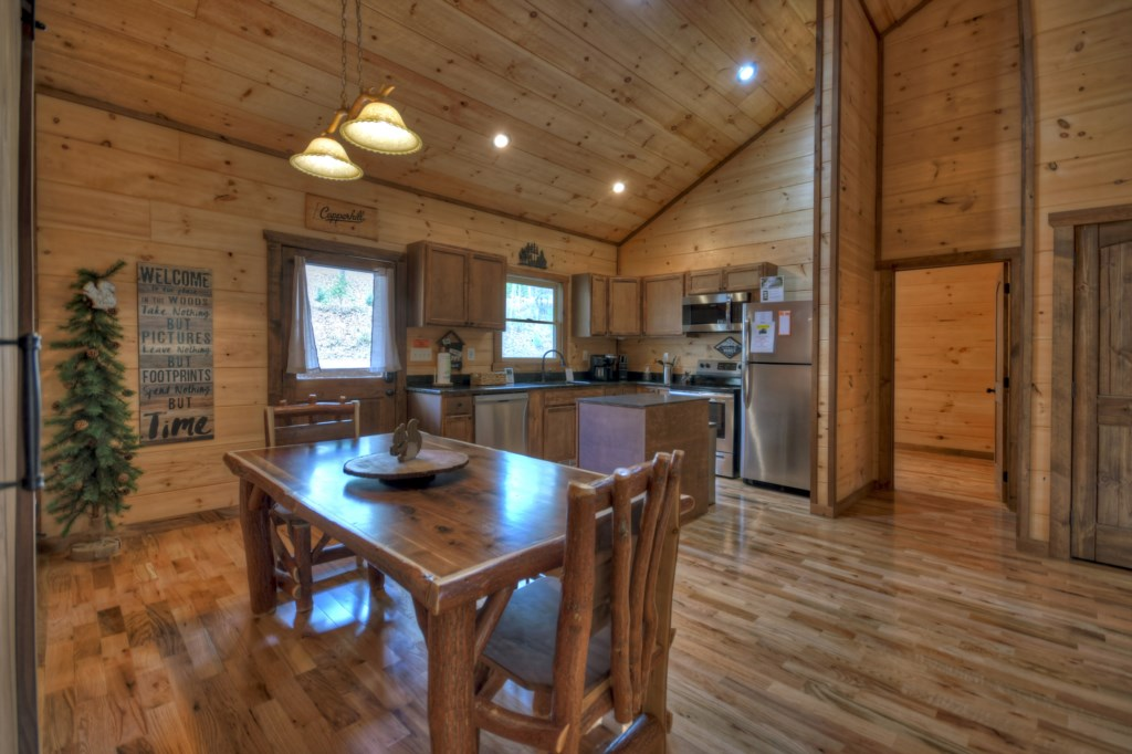 Open plan Kitchen/Dining Room for easy entertaining and gatherings