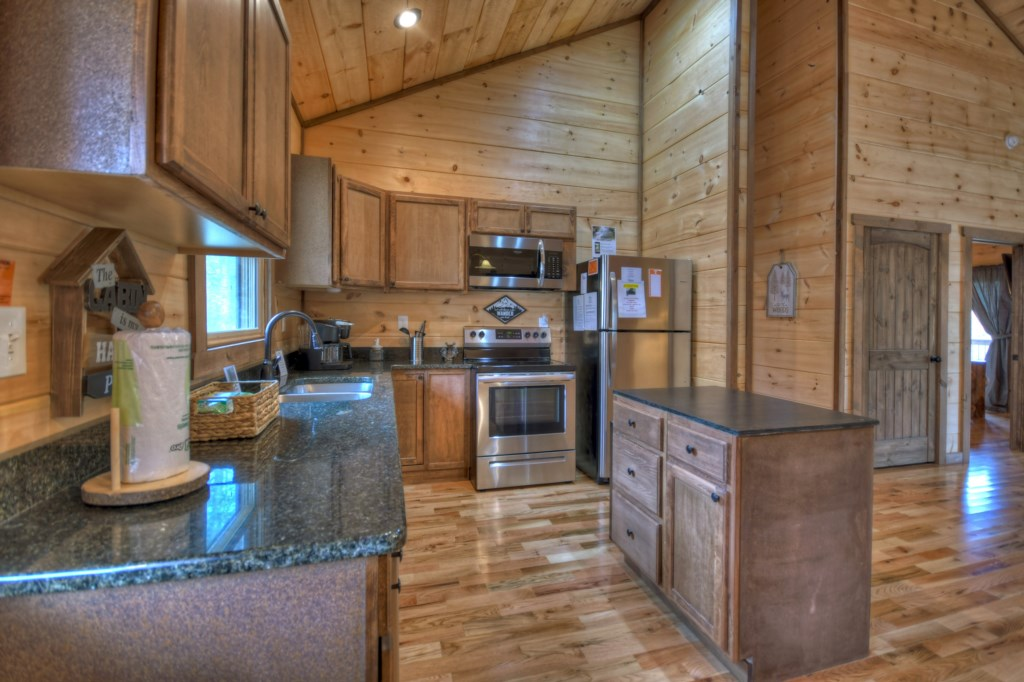 Feel at home in this spacious kitchen
