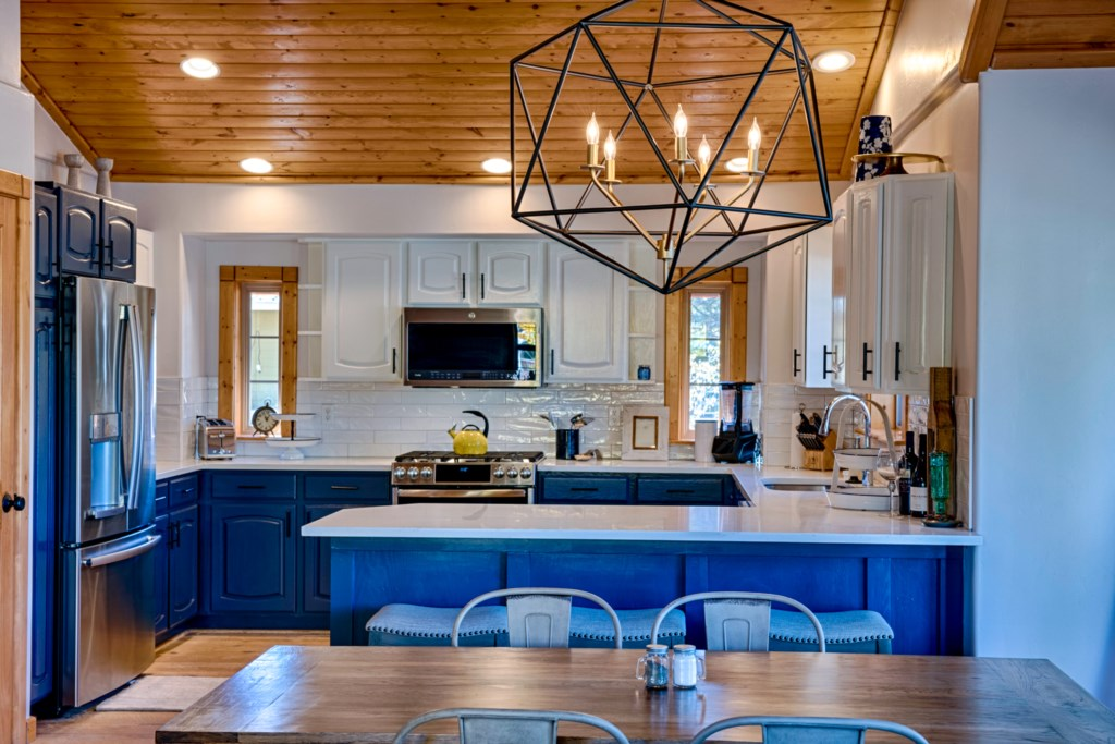 High Wooden Ceilings and New Modern Furnishings