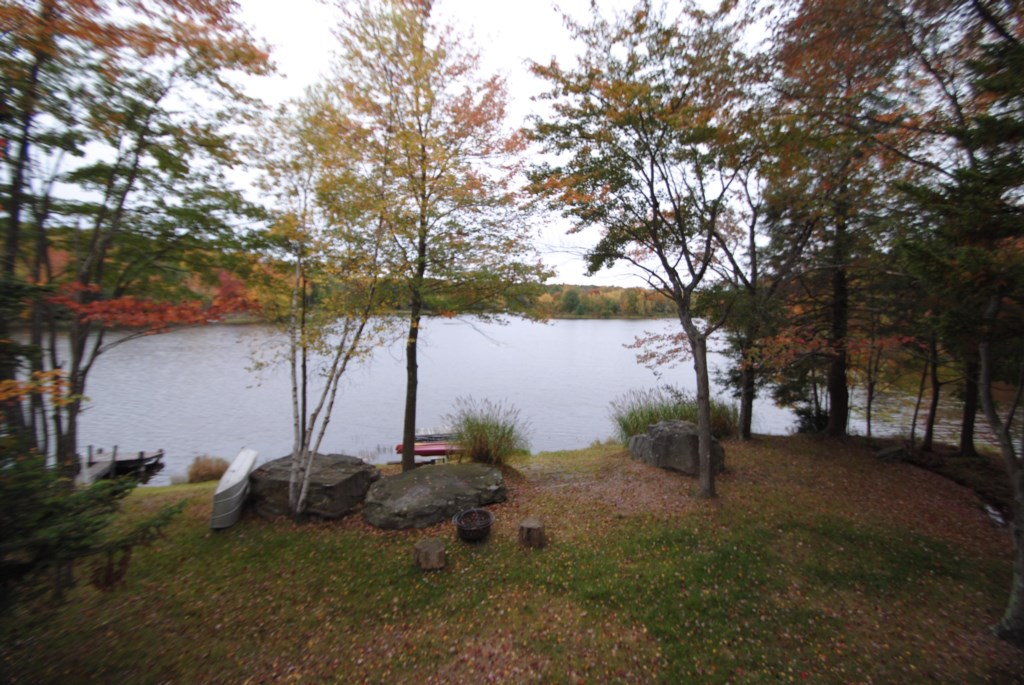 Awesome, anytime views of the lake from our large deck.