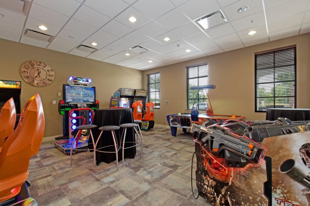 Windsor at Westside arcade room