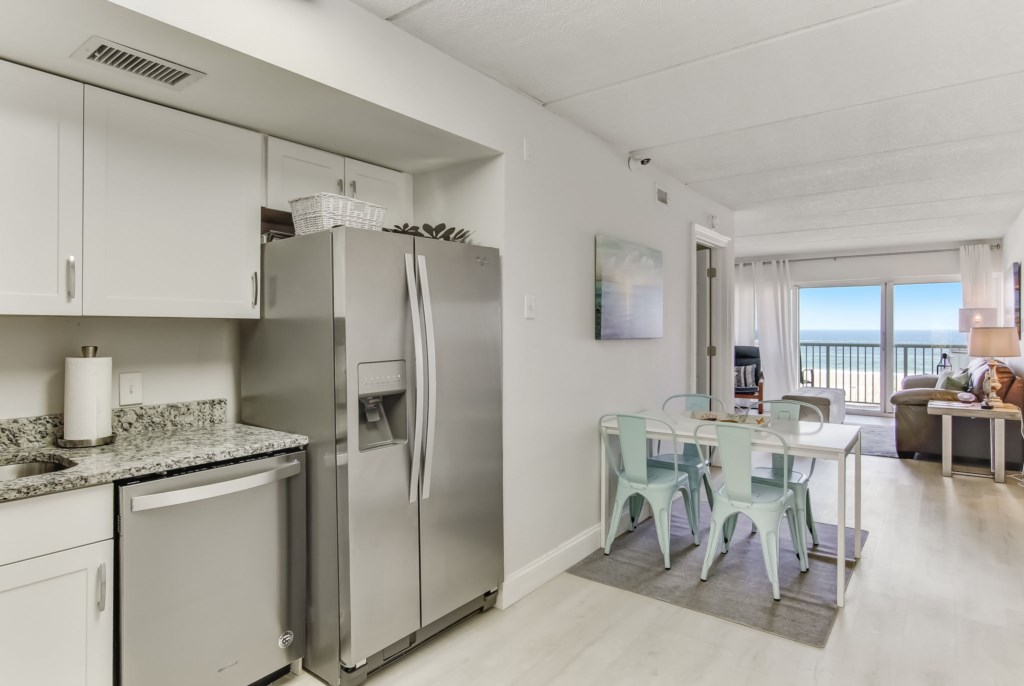 Breakfast Nook and Open Kitchen