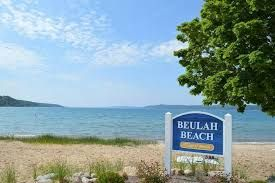 Beulah Beach, short drive from the property