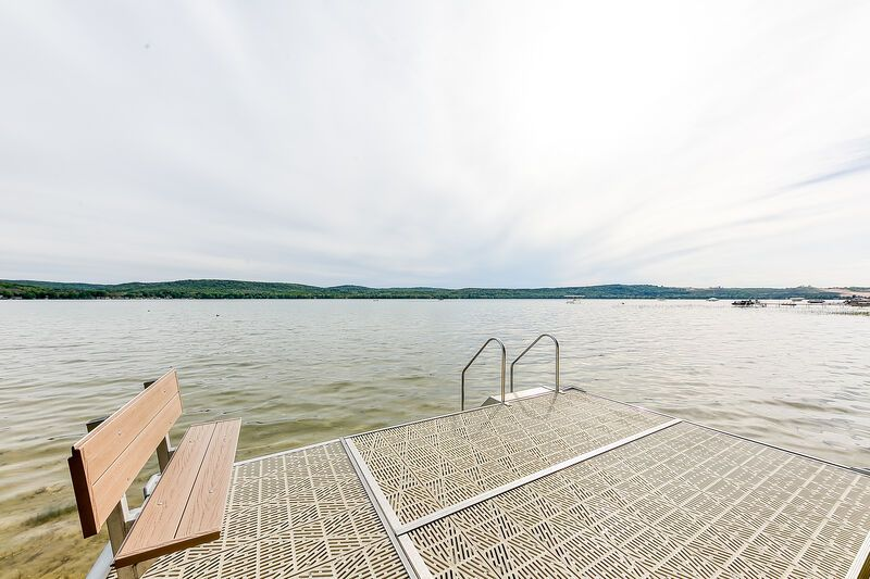 Little Glen Lake, with shared dock