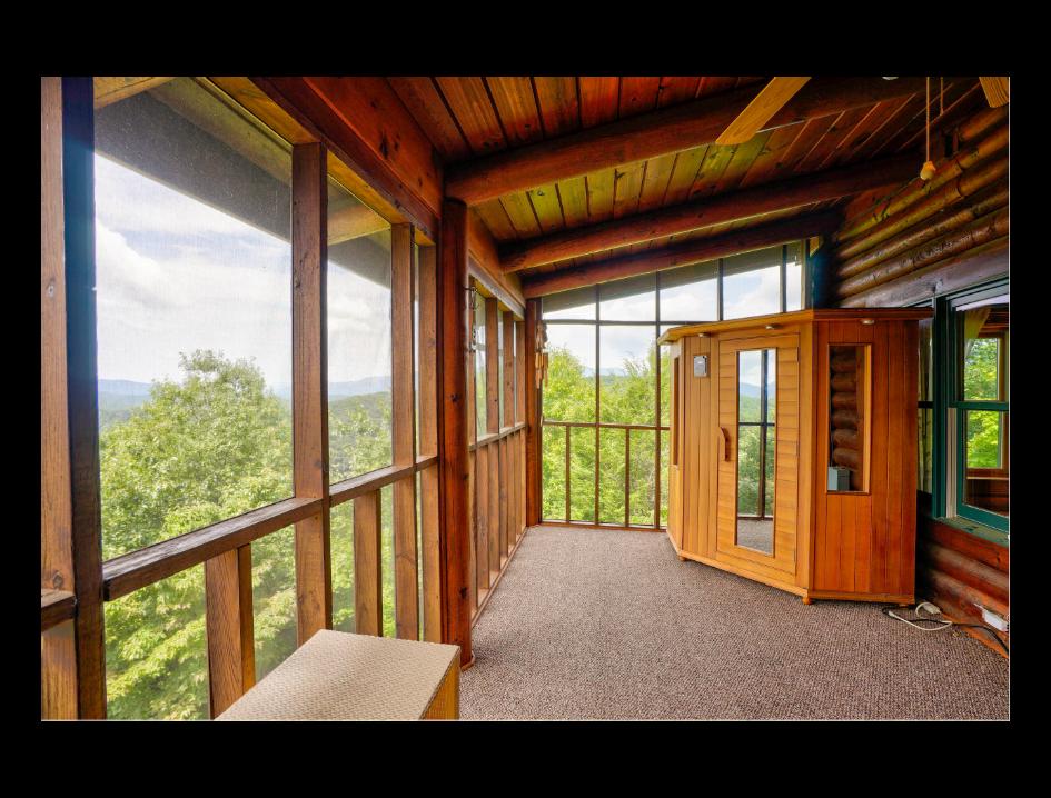 Sauna off Master Suite