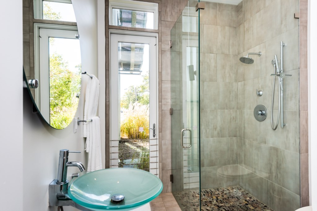 Full Bathroom with Stand-Up Shower