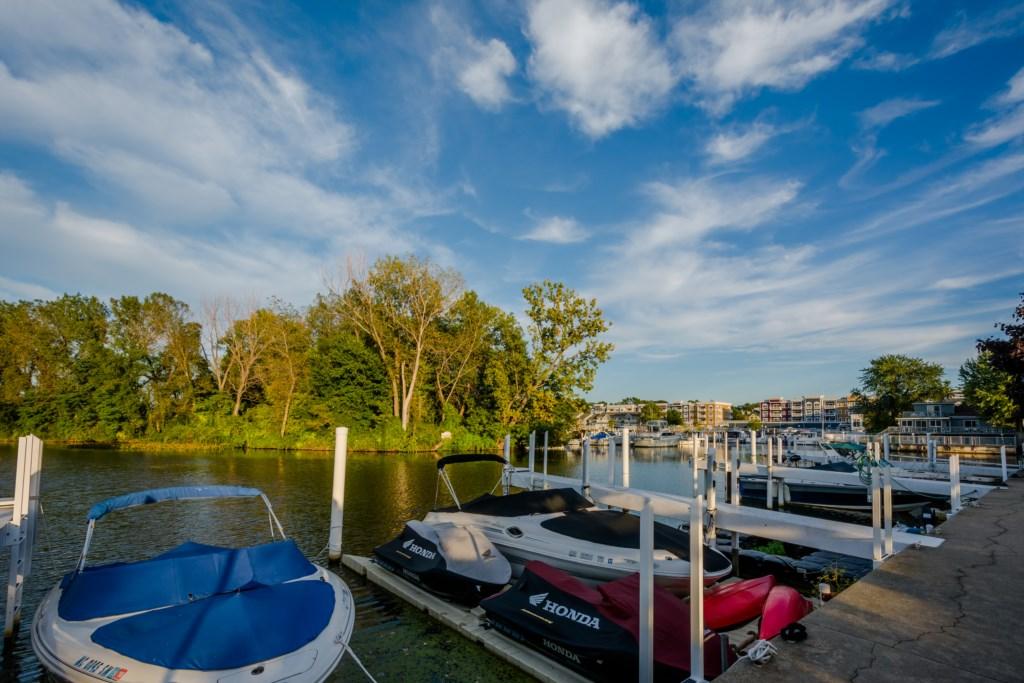 New Buffalo Boat Docks