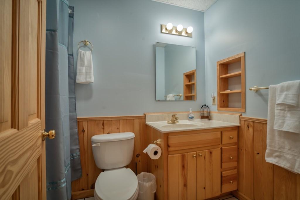 Bedroom 1 downstairs Bath
