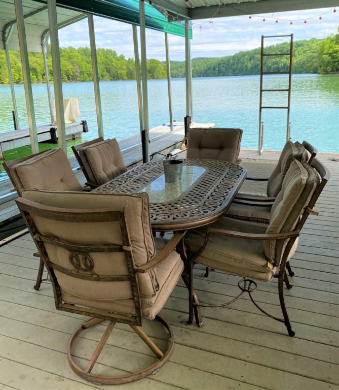 Dock Furniture and Swim Ladder