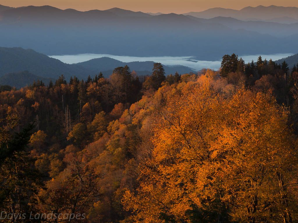 Beautiful Autumn colors of Tennessee