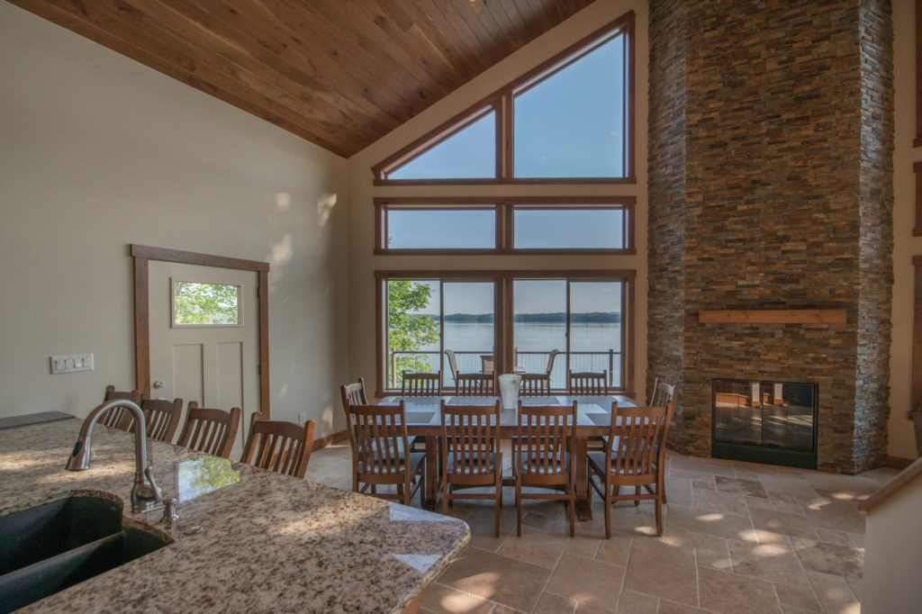 Over Look Douglas Lake while making your favorite meals