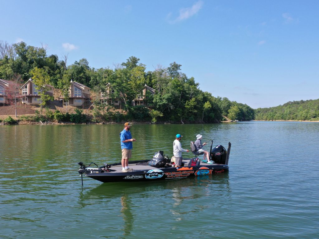 Douglas Lake is known all across the country for ranking in the top 10 for bass fishing!