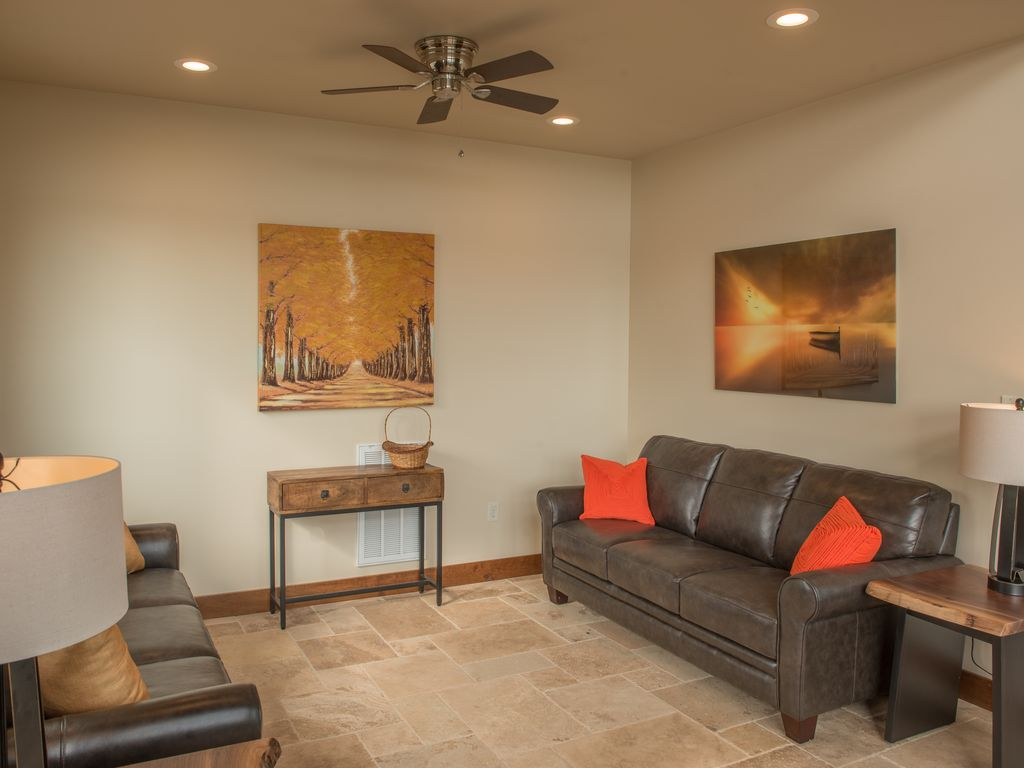 Relaxing Living Room area with breathtaking views right from your seat.